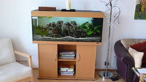 juwel aquarium rio 240 liter mit unterbau. Black Bedroom Furniture Sets. Home Design Ideas